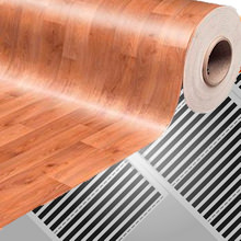 Теплый пол под линолеум (на деревянный пол, бетонный пол)